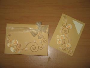 картичка с кутийка