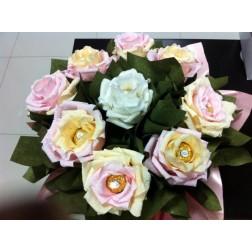 Бонбонен Букет Розова градина